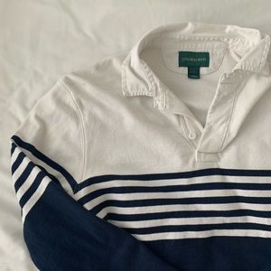 J. Crew Men's Striped Rugby Shirt